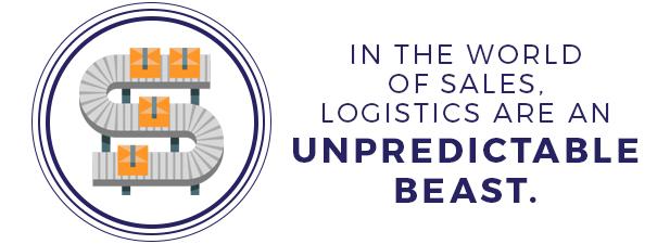 Logistics sales