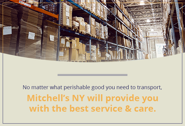 choose Mitchell'sNY logistics
